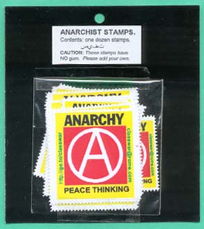 Anarchy stamp #2,